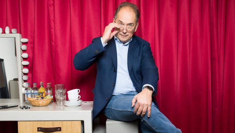 Dmitri Liss, chef-dirigent van het Philharmonie Zuidnederland. Beeld Ivo van der Bent