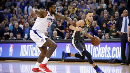 Stephen Curry leidt Golden State met 44 punten voorbij LA Clippers
