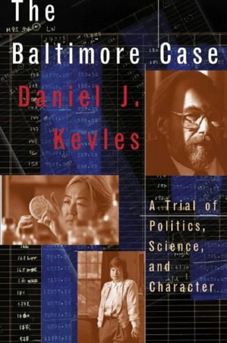 The Baltimore case. Beeld Boekcover