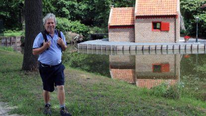 """Oud-burgemeester Erwin Brentjens wandelde 1.000 kilometer tijdens de lockdown: """"Als revalidatie na zwaar verkeersongeval"""""""