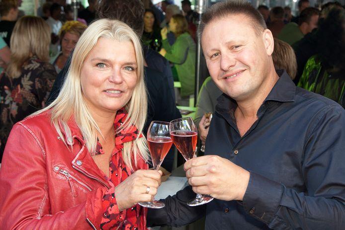 Initiatiefnemers van het klimpark Vivienne Winkelaar en Xavier Duijn.