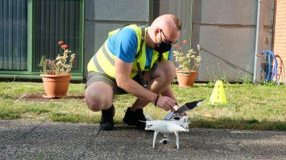 Drones helpen stad bij inspectie van moeilijk bereikbare plekken