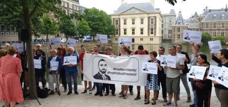Opnieuw demonstratie voor vrijlating SP'er Murat Memis uit Eindhoven, vandaag debat in Tweede Kamer