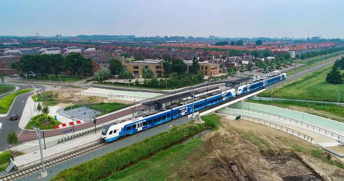 Station Zwolle Stadshagen wordt op 2 juni twee weken lang in gebruik genomen om te testen of de toekomstige dienstregeling goed werkt.