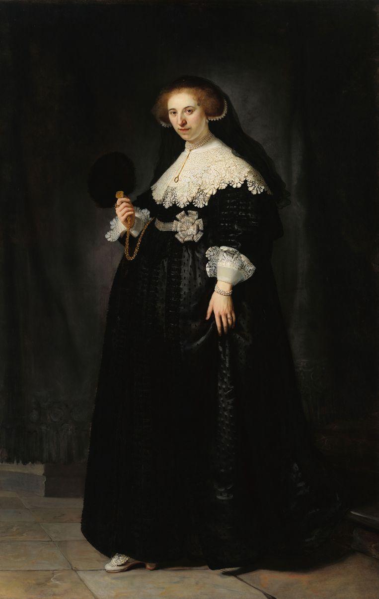 Portret van Oopjen Coppit. Beeld Rijksmuseum
