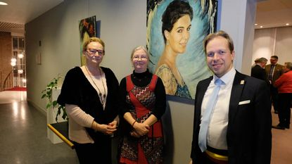 Marina Cleiren stelt tentoon
