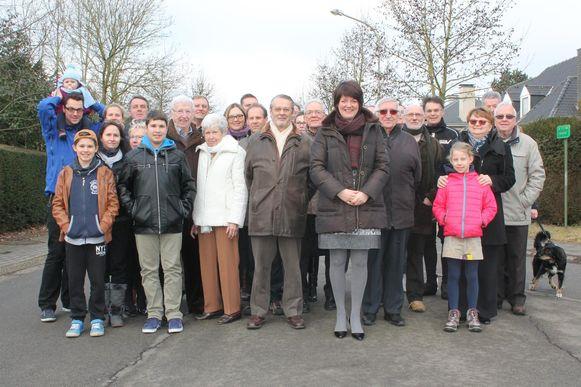 Het buurtcomité Hoogveld-Molenberg wil geen drukke verbindingsroute doorheen Groot-Bijgaarden.