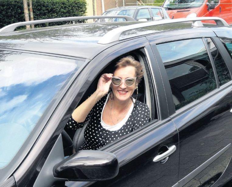 Psychotherapeute Yvette van der Pas had bijna twintig jaar lang last van rijangst, ontstaan na een ongeluk. Beeld Hans van Eijkern