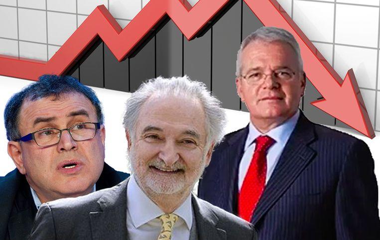 Nouriel Roubini, Jacques Attali en Felix Zulauf: allemaal voorspellen ze in 2020 een crisis.