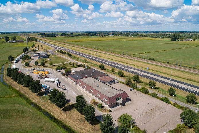 Foto ter illustratie. Bij de verkeerslichten ter hoogte van Zalkerbroek is een 'groene golf' geïnstalleerd.