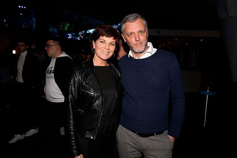 Geena bracht haar nieuwe vriend ook mee naar de première van 'F.C. Kampioenen' gisterenavond