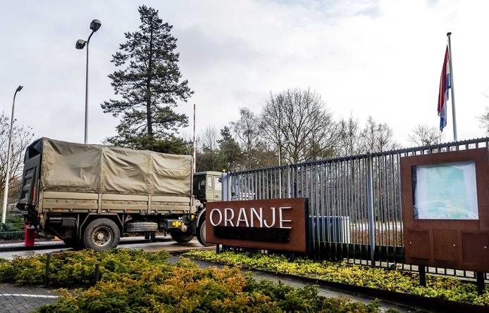 De Oranjekazerne in Schaarsbergen op archiefbeeld.