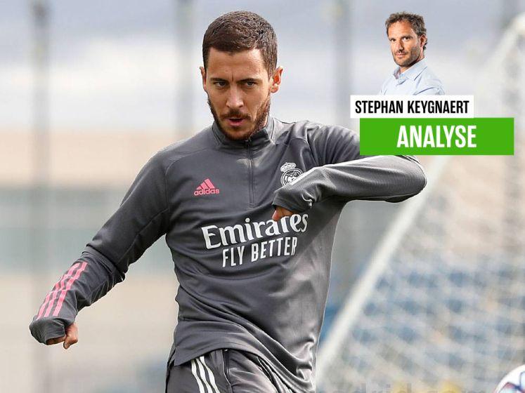 """Onze chef voetbal vindt plotse selectie van Hazard bij Real bizar: """"De pers in Madrid is van de hand Gods geslagen"""""""