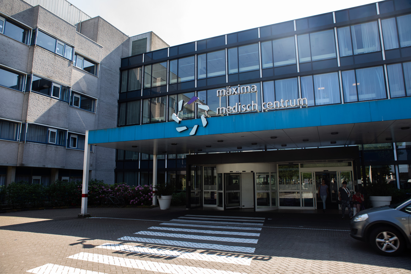 Een exterieur van het ziekenhuis Máxima Medisch Centrum (MMC).