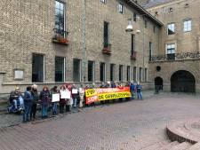 Twents protest tegen oorlog in Syrië
