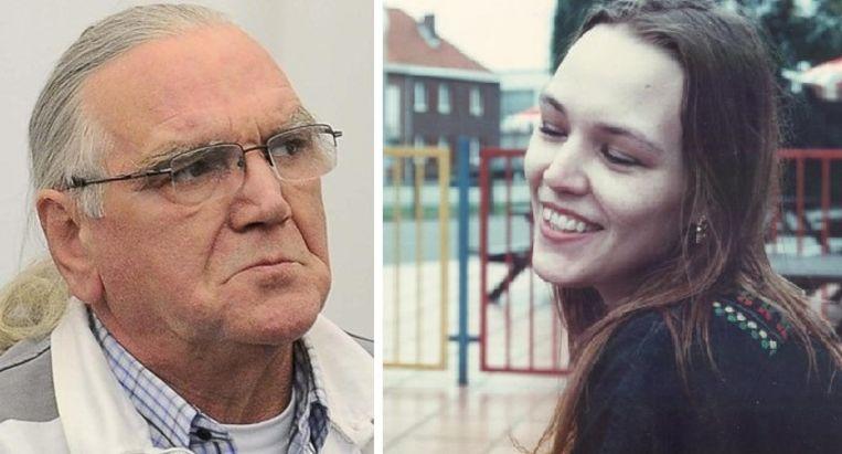 De rees veroordeelde moordenaar Claudy Pierret (71) en Sally van Hecke (20).
