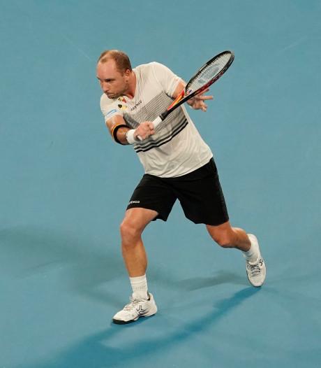 Tennisloopbaan Darcis eindigt in kwalificatie Australian Open