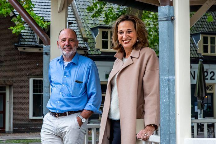 Rino Jonkers en zijn zus Ellen Standhardt-Jonkers staan aan de wieg van het referendum over de woningbouwplannen in Houten.