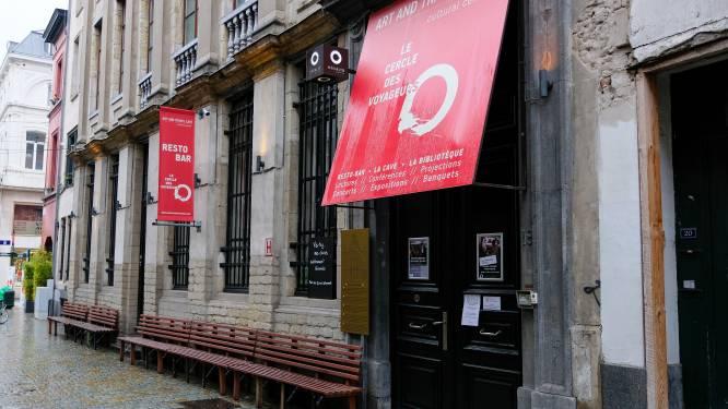 Populaire resto-bar Le Cercle des Voyageurs in hartje Brussel legt boeken neer
