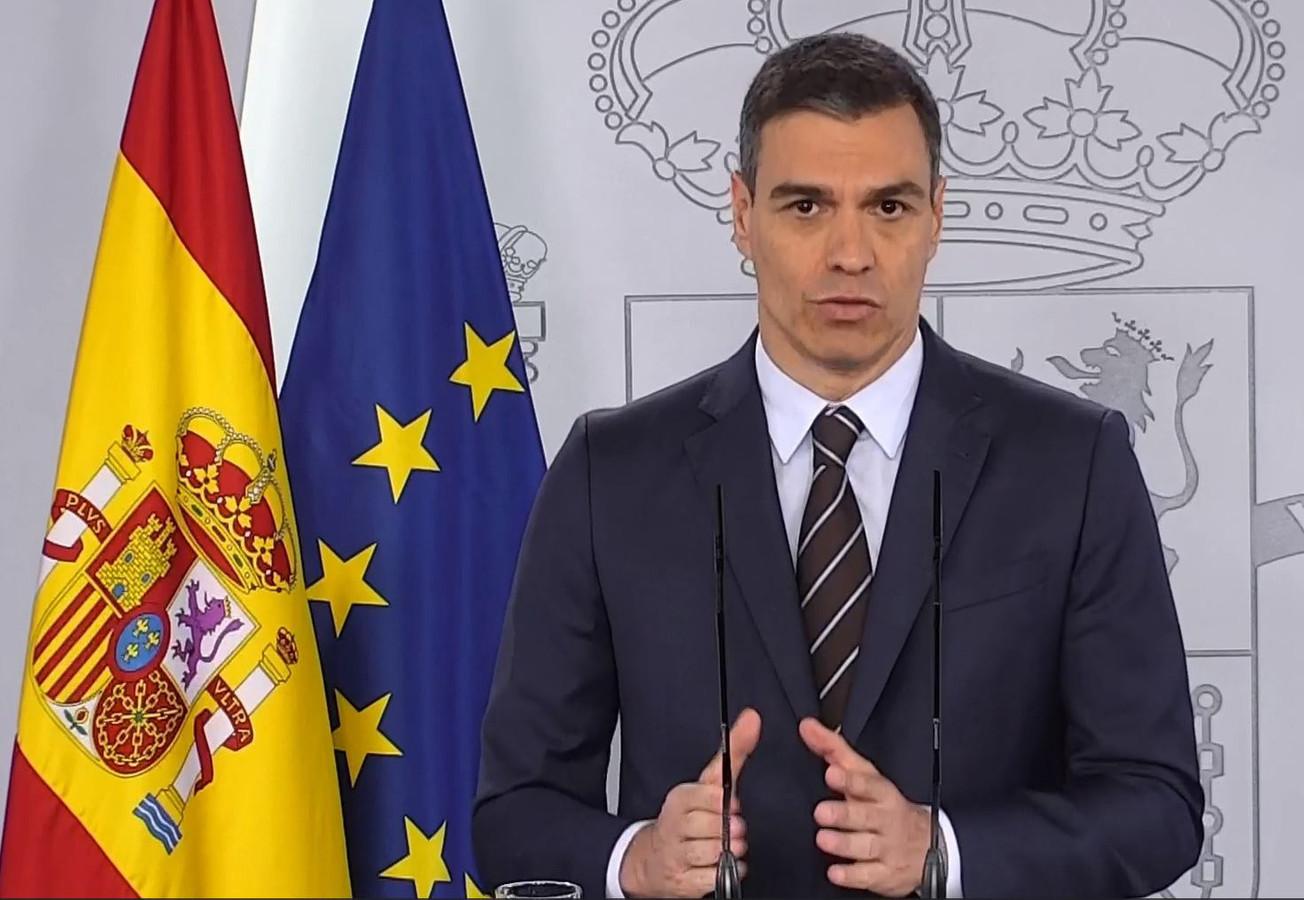 De Spaanse premier Pedro Sánchez.