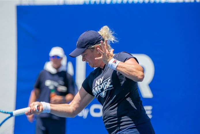 Kim Clijsters est restée au repos.