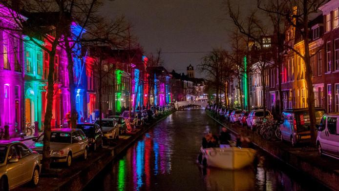 Led-verlichting door de hele stad   Delft   AD.nl