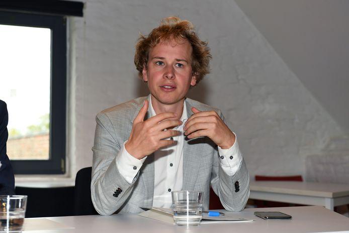 Thomas Van Oppens is schepen voor Groen in de meerderheid.