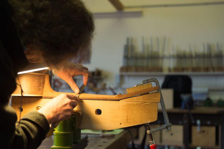 Het Centrum voor Muziekinstrumentenbouw in Puurs-Sint-Amands