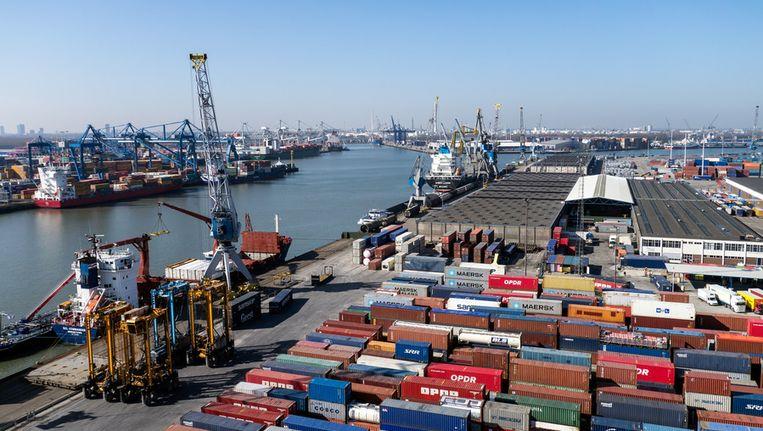 De Rotterdamse haven Beeld anp