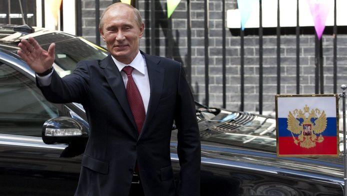 Gisteren beloofden Poetin (foto) en de Britse premier Camerone en nauwere samenwerking inzake hun politiek in Syrie.
