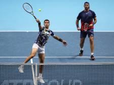 Rojer uitgeschakeld in dubbelspel ATP Finals