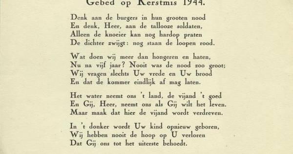 Westervoort Wil Gedicht Over De Wereldoorlog Liemers