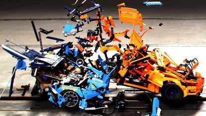 Waarom het Duitse Touring botsingen nabootst met Lego-auto's