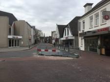 Kruising Mr. van Coothstraat-Grotestraat Waalwijk twee weken dicht