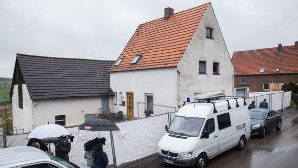 De woonplaats van het verdachte stel in het Duitse Höxter.