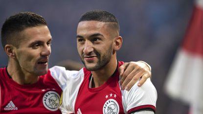 Hakim Ziyech van Ajax naar Chelsea voor ruim 40 miljoen euro