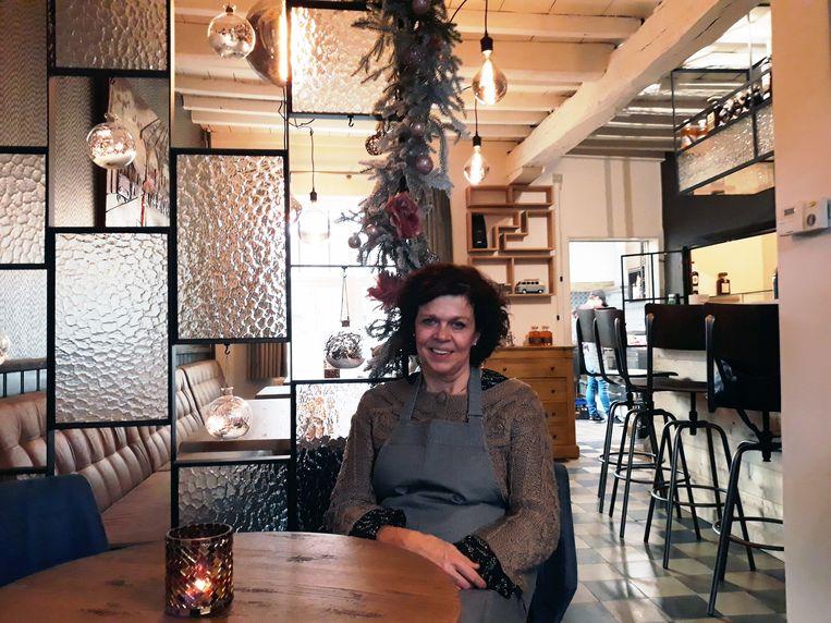 Lieve Holemans in haar bistro Begijnhof 65.