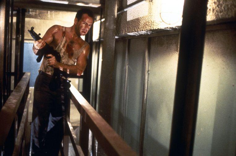 Bruce Willis in Die Hard (John McTiernan, 1988). Beeld ANP Kippa