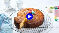 Is dit de leukste manier om suikereitjes te eten? Verwerk ze in een romig paasgebak