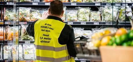 Supermarkt Vijfheerenlanden schroeft maatregelen tegen corona op, na dringende oproep van burgemeester