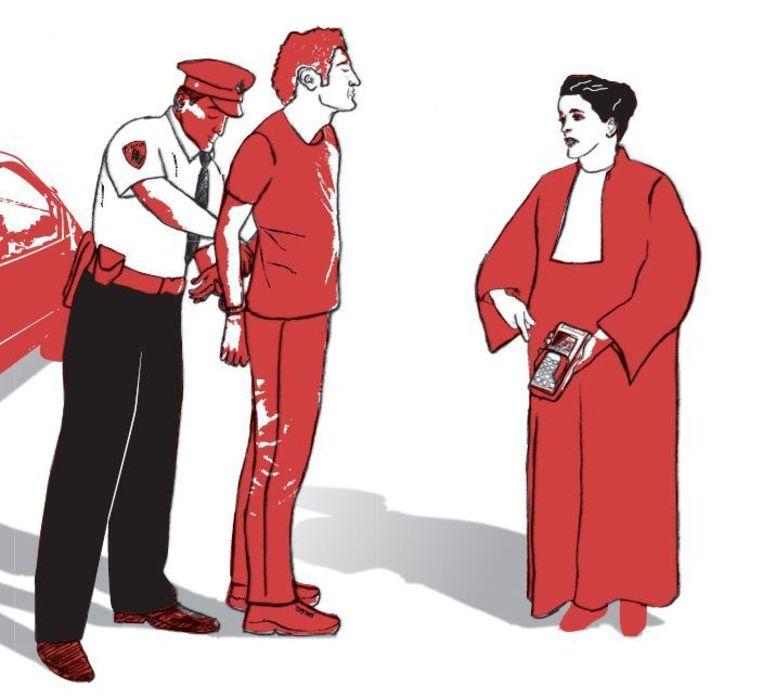 OM wil met 'ZSM-units' eenvoudige misdrijven meteen zelf bestraffen Beeld Chantal van Wessel