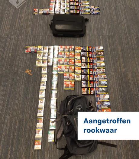 Drie mannen aangehouden wegens heling sigaretten in Hoogmade