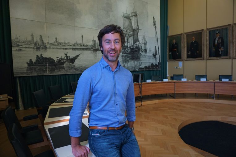 Voorzitter van de gemeenteraad van Oostende Wouter De Vriendt.