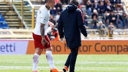 """FT buitenland 31/03: PSG vloert Monaco in Franse bekerfinale - Nainggolan valt uit bij AS Roma: """"Het ziet er niet bemoedigend uit"""""""
