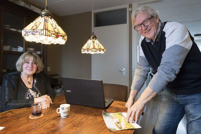 Els en Jan Vermeer uit Haaren kunnen niet wachten tot hun seniorenwoning opgeleverd wordt.