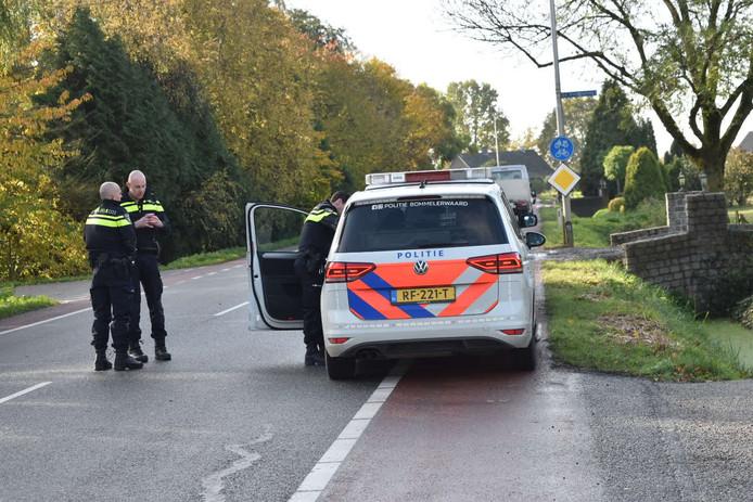 Het ongeluk gebeurde aan de Grote Inghweg.
