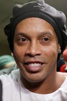 Huisarrest voor Ronaldinho en broer na verlaten gevangenis