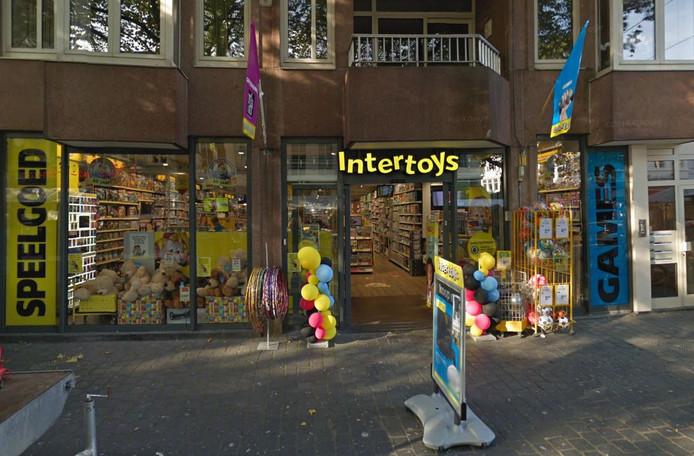 De Intertoys op de Grote Markt in Breda.