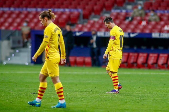Griezmann en Messi.