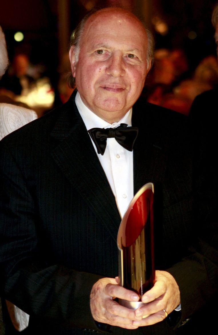 De Hongaarse Nobelprijswinnaar Imre Kertész, 2008. Beeld Reuters